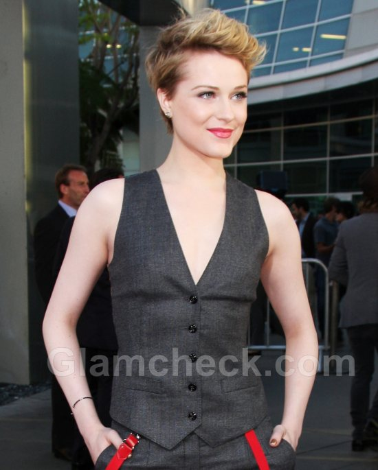 Evan Rachel Wood Androgynous look