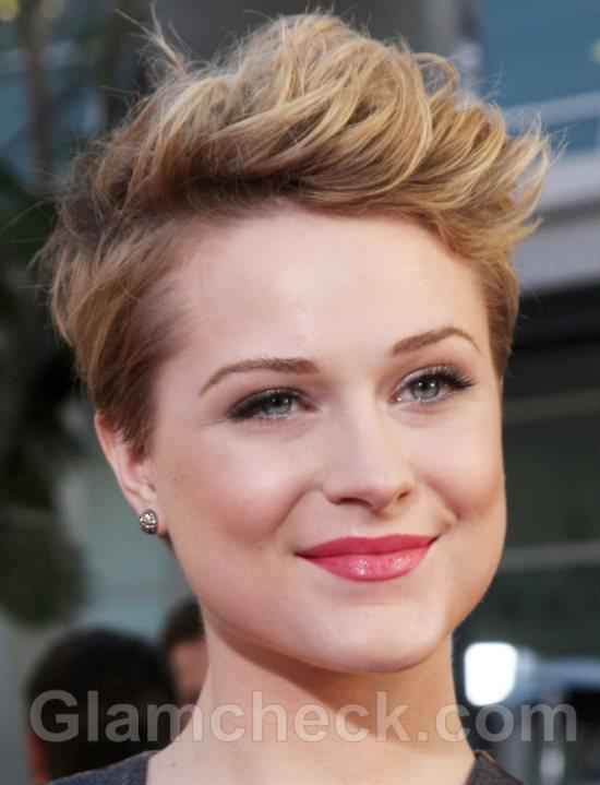 Evan Rachel Wood Pixie Haircut