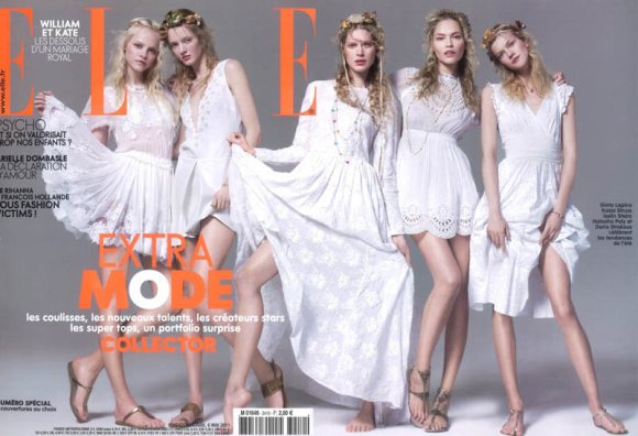 Fashion Party Elle France May 2011