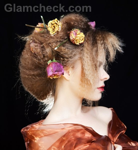 Flower hairstyles-1