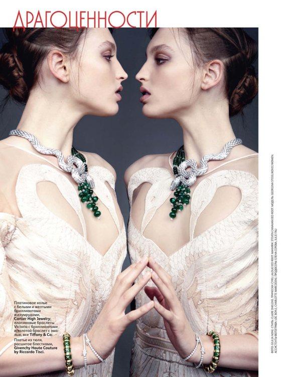 Georgina Stojiljkovic Vogue Russia June 2011