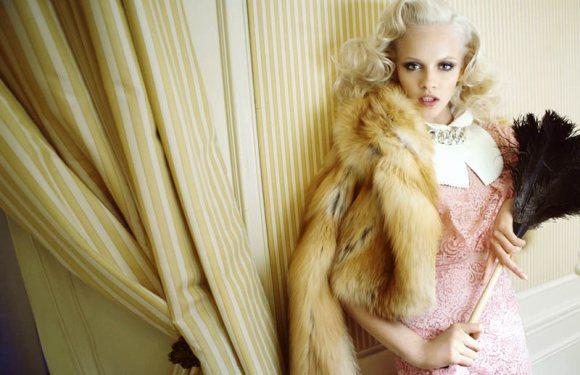 Ginta Lapina Vogue Germany July 2011