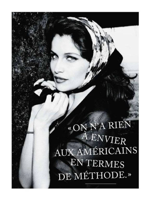 Laetitia Casta Glamour France July 2011
