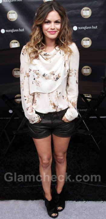 Rachel Bilson in shorts