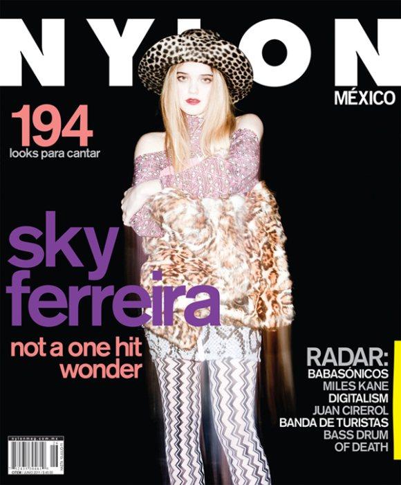 Sky Ferreira Nylon Mexico