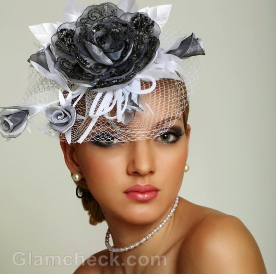 wedding accessories cage veil
