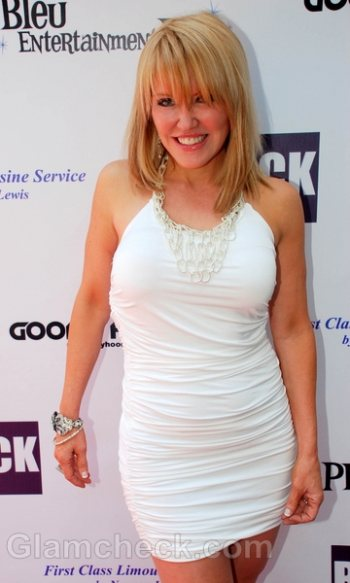 white outfit celebrity Teres Marie