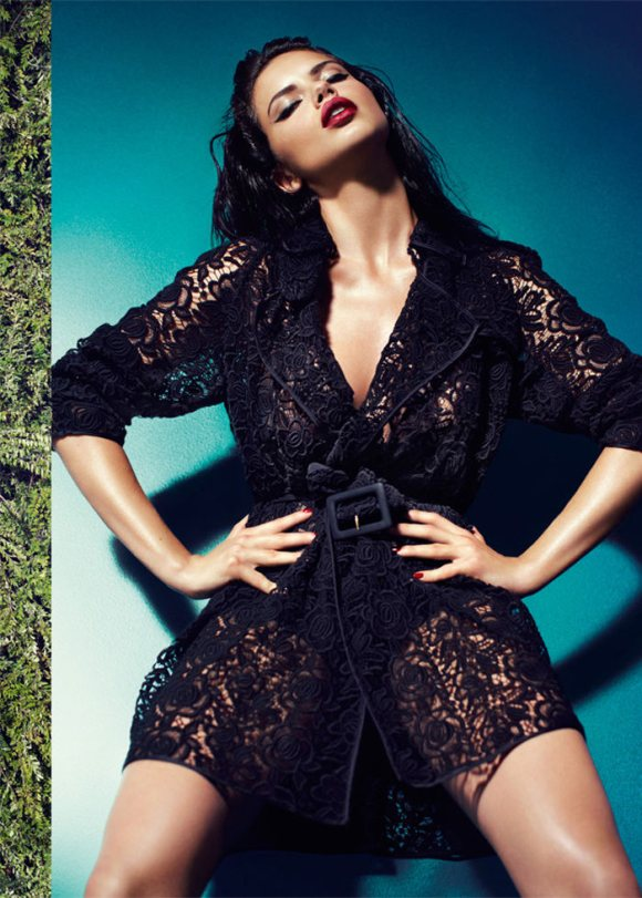 Adriana Lima for Blumarine Fall 2011 Campaign and video