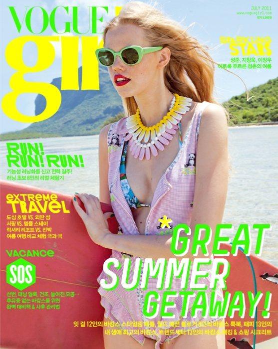 Alex Sander Vogue Girl Korea July 2011