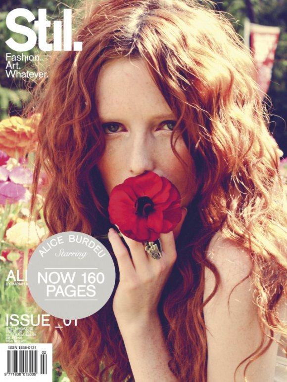 Alice Burdeu Stil Magazine