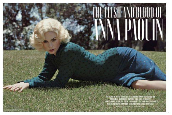 Anna Paquin V Magazine