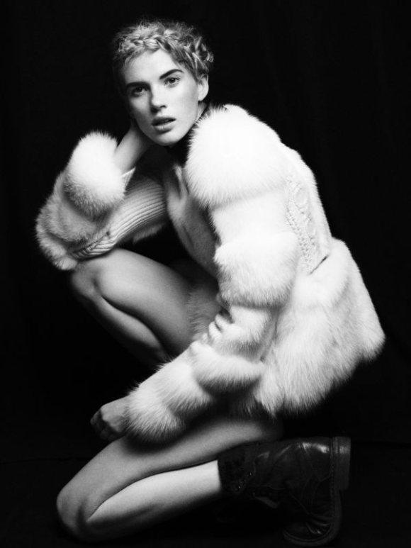 Anne Vyalitsyna Vogue Germany July 2011