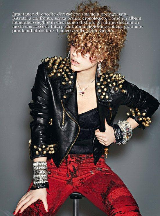 Barbara Palvin Vogue Gioiello
