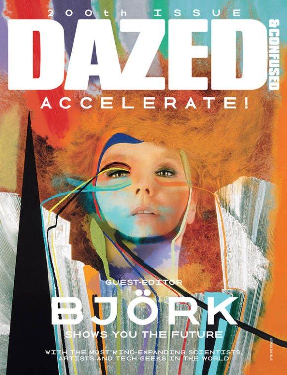 Bjork Dazed Confused August 2011