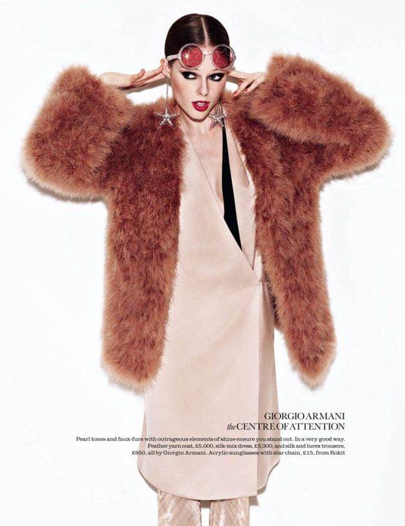 Coco Rocha For Elle Uk August 2011
