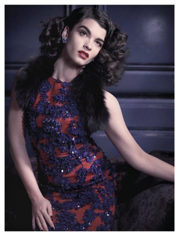 Crystal Renn Vogue Spain