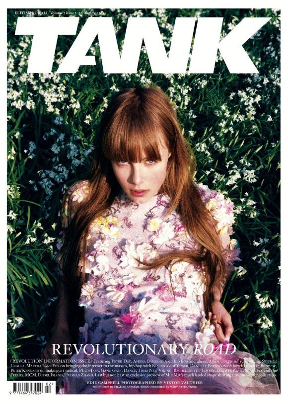 Edie Campbell Tank Magazine Summer 2011