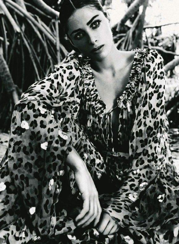 Elisa Sednaoui Harpers Bazaar Spain August 2011