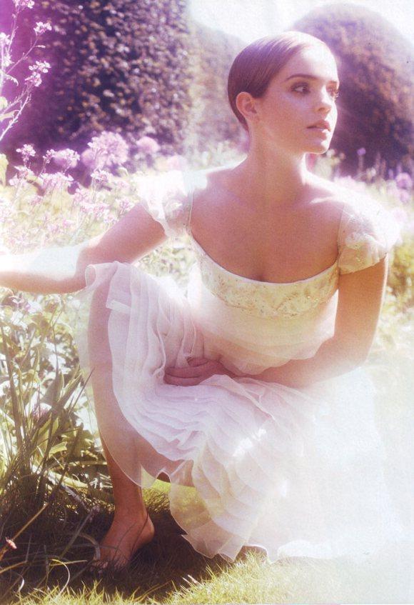 Emma Watson Harpers Bazaar UK August 2011