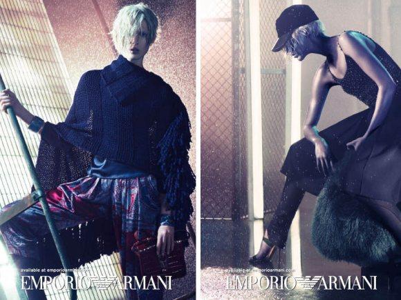 Emporio Armani Fall 2011 Campaign