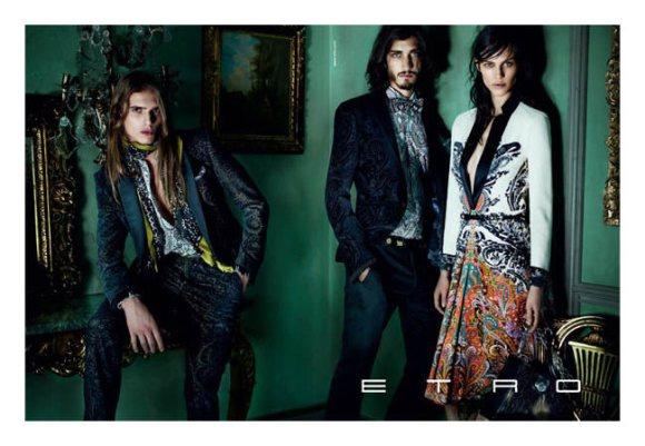 Etro Fall 2011 Campaign