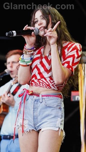 Frayed-denim-shorts-Eliza-Doolittle