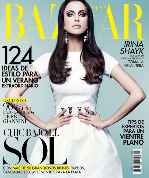 Irina Shayk Harpers Bazaar Mexico July 2011