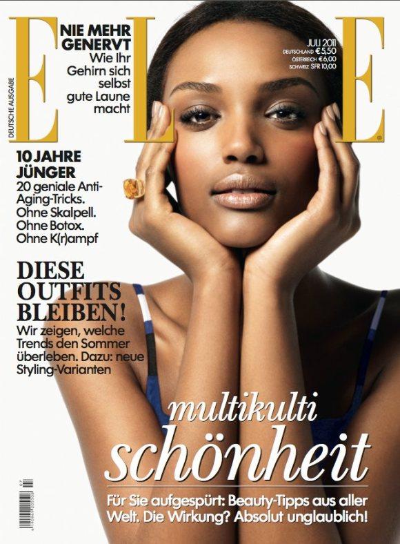 Israela Avtau Elle Germany July 2011