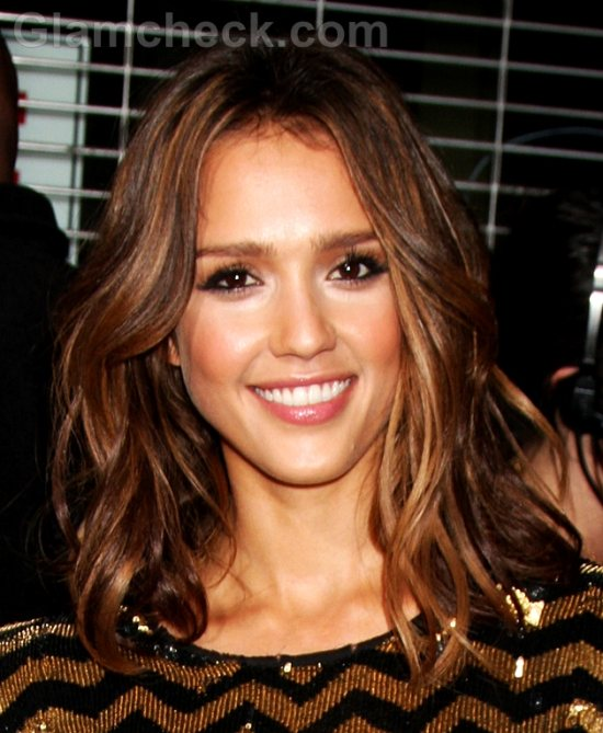 Jessica Alba Hairstyle