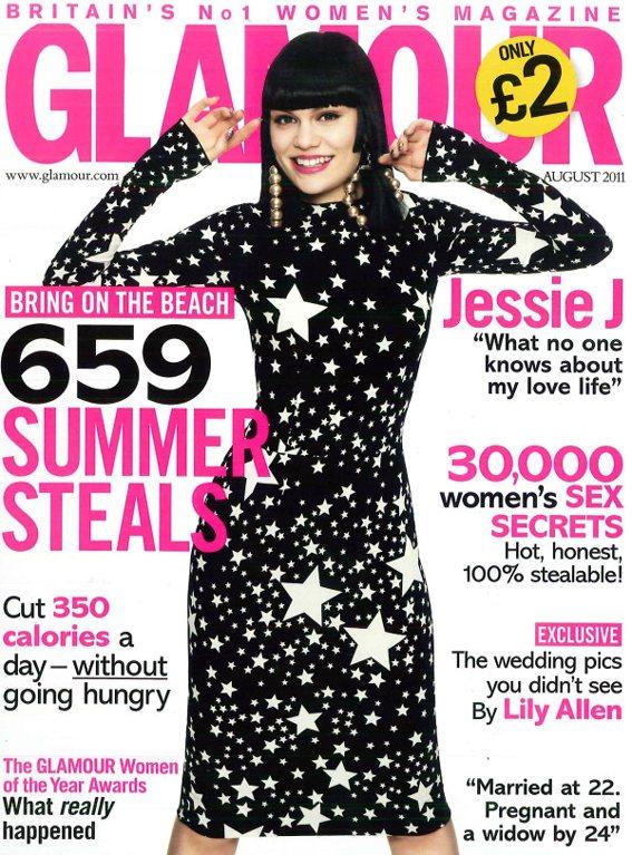 Jessie J Glamour UK August 2011