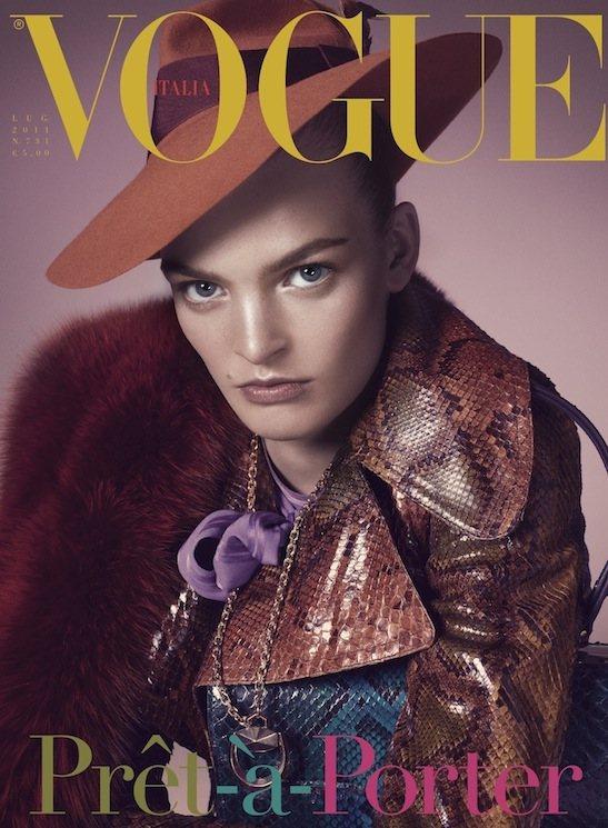 Juliane Gruner Vogue Italia July 2011