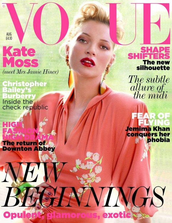 Kate Moss Vogue UK August 2011