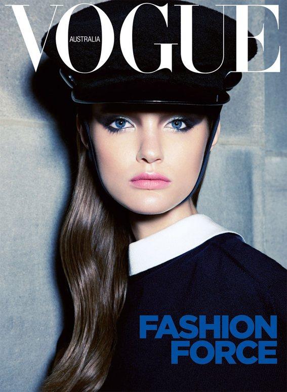 Katie Fogarty Vogue Australia September 2011