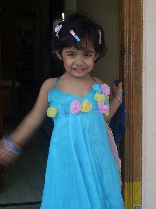 Kids Summer Style-blue dress