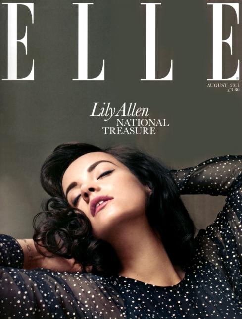 Lily allen elle uk fashion for Elle decor india contact