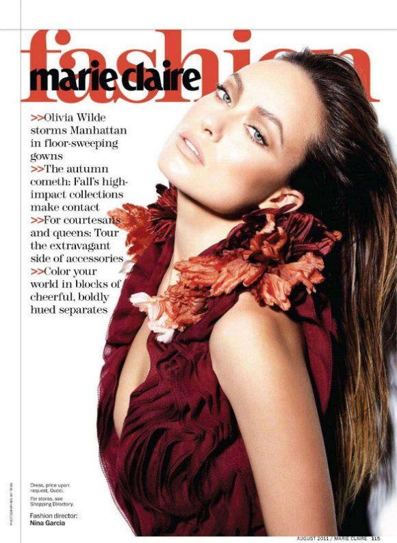 Marie Claire US August 2011