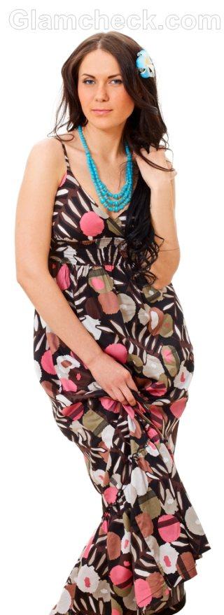 Maxi dress accessories