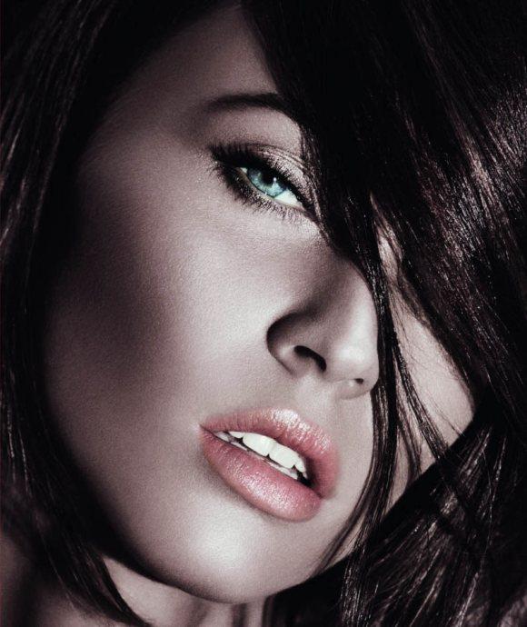 Megan Fox Giorgio Armani S S 2011 Beauty Campaign
