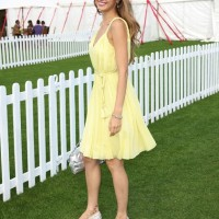 Petra-Nemcova-yellow-sundress