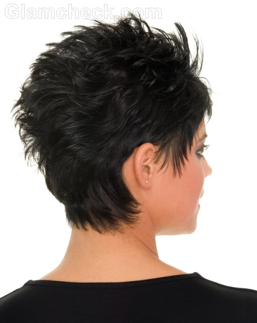If your style is edgy, then the Mohawk pixie haircut could be the ...
