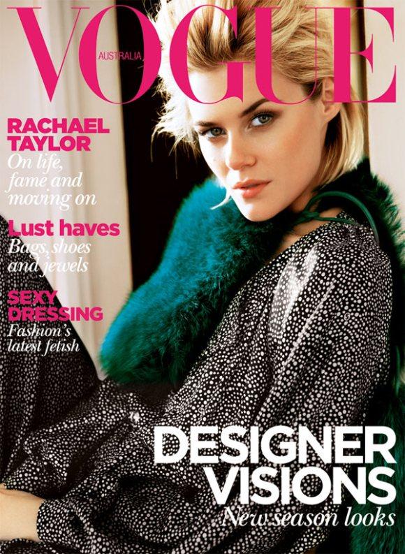 Rachael Taylor Vogue Australia August 2011