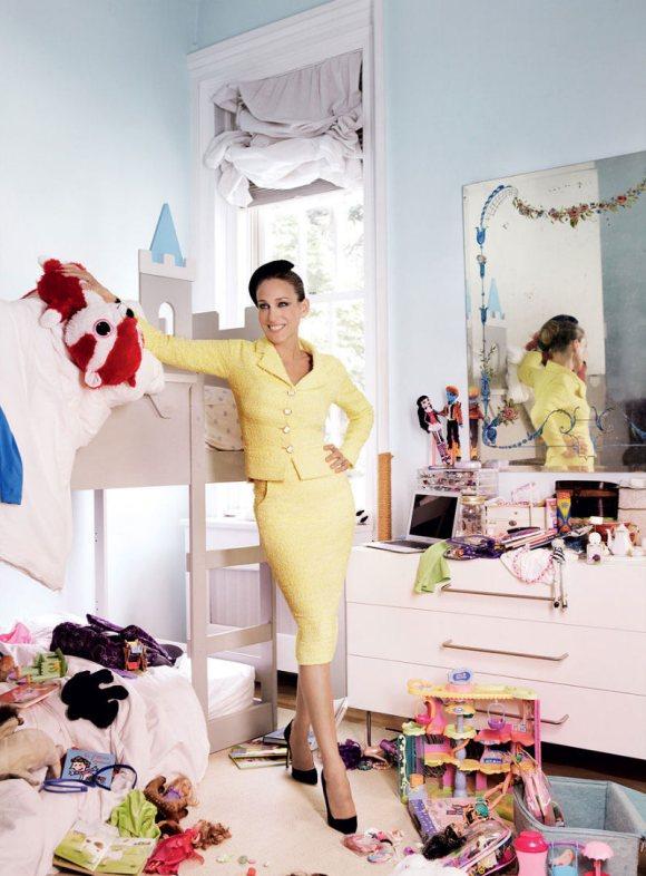 Sarah Jessica Parker Vogue US August 2011