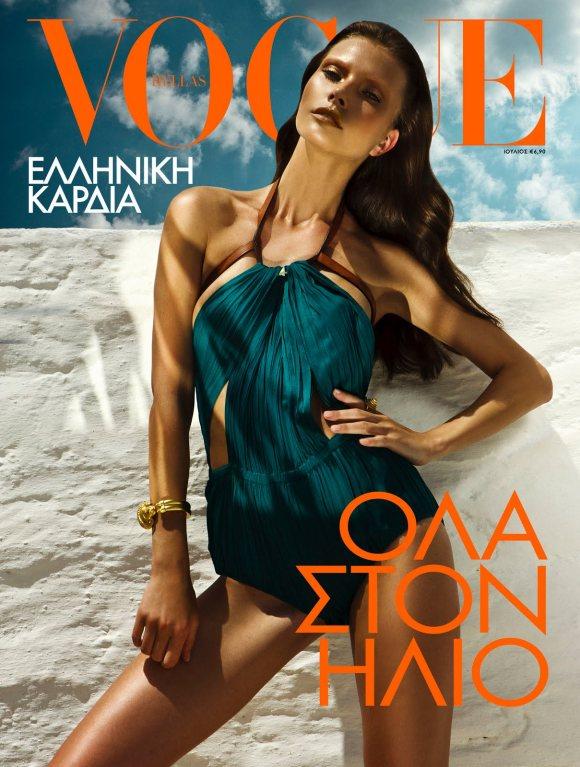 Valeriya Melnik Vogue Hellas July 2011