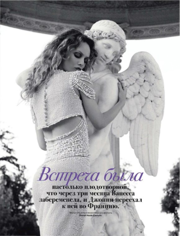 Vanessa Paradis Tatler Russia July 2011