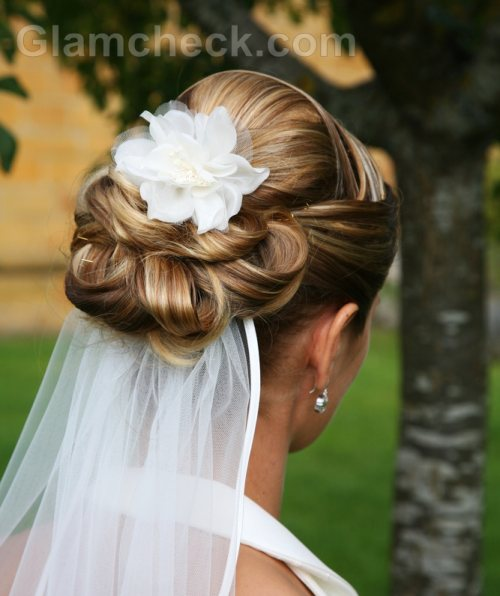 Wedding Hairstyle Updo Veil: Wedding Hairstyles
