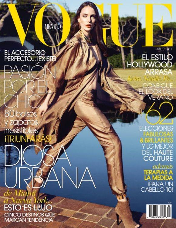 Zuzanna Bijoch Vogue Mexico July 2011