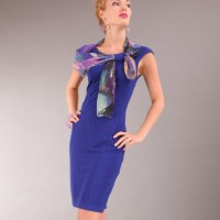 accesorizing sheath dress