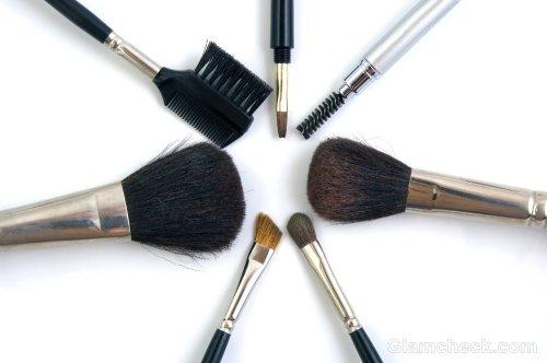 makeup brushes maintenance