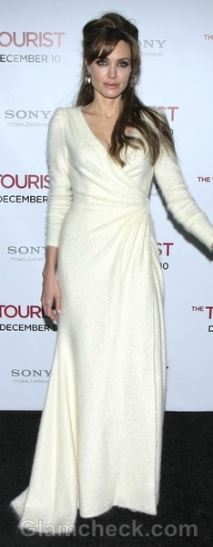 wrap dress angelina jolie