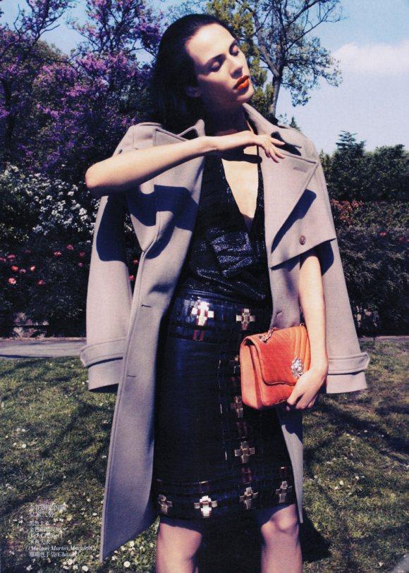 Aymeline Valade Vogue China July 2011